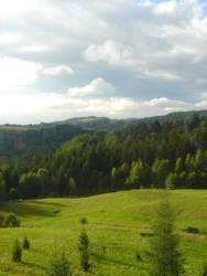 Stock 167: sunny hills by AlzirrSwanheartStock
