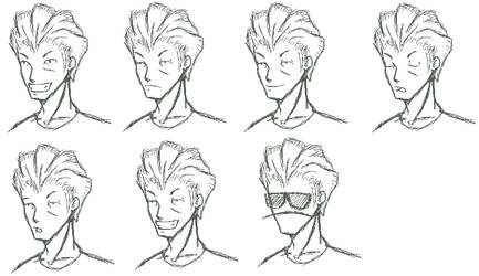 Many Faces of Merc by TheMercFCS