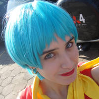 Me as Bulma by AllithLumia