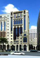 hotel in almadinah by bilalgfxdesign