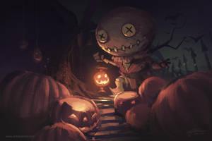 Happy Halloween 2014 by YanmoZhang