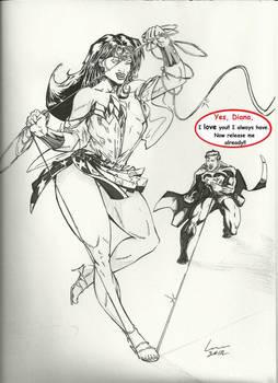New-Look Wonder Woman by Lun-K