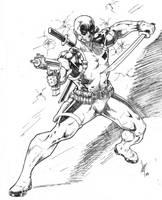 Deadpool by Lun-K
