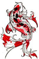 Koi Fish by RaowenBlackbird