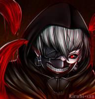 Tokyo Ghoul's Kaneki - [Fanart] by kirubi-san