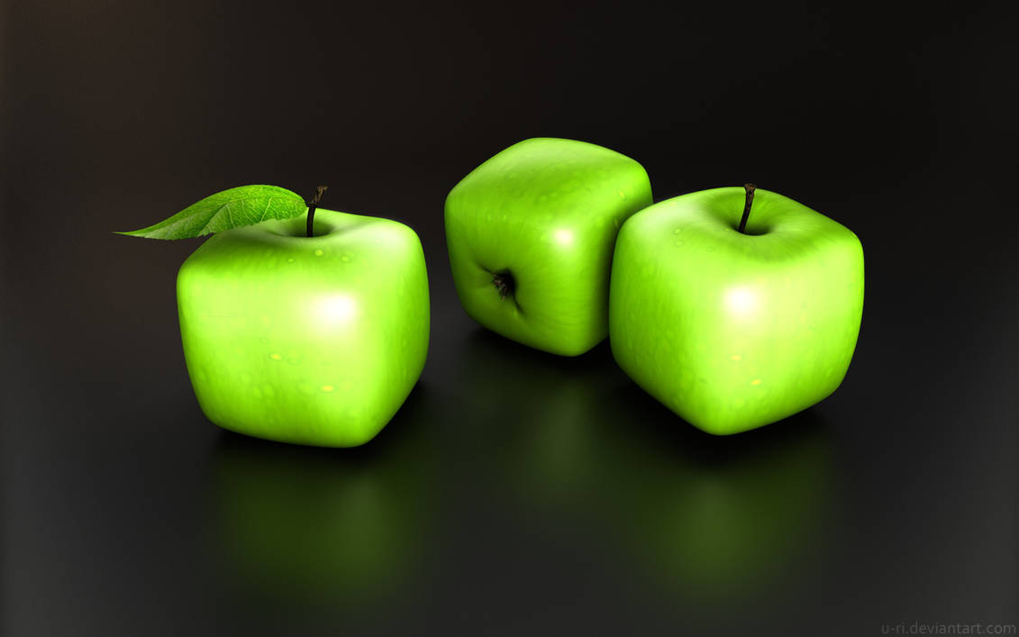 cubik apple by yurishopa