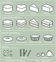 Cakes - Free Icon Bases by etNoir