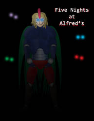 Five Nights at Alfred's - Francis by FroggieGirl1994