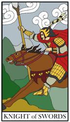 Yao, the Knight of Swords by FroggieGirl1994