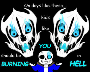 You feel like you're going to have a bad time... by FroggieGirl1994