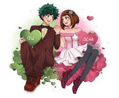 IzuOcha {Hearts} by Reishichi