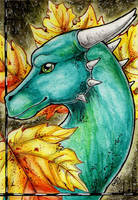 Double ACEO- DeeLeaf by Cally-Dream