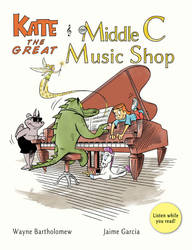 Kate the Great and the Middle C Music Shop by BartholomewGarcia