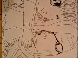Rem and baby Misa by nanakohojo