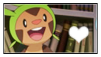 Chespin Stamp by Hime--Nyan