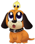 SSB4: Baby Duck Hunt by Hime--Nyan