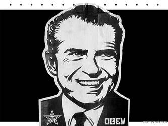 Obey Nixon by vacantlot