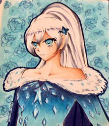 Ice Queen  by Pink-Satin