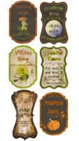 custom Potion labels by Pureblackmagik