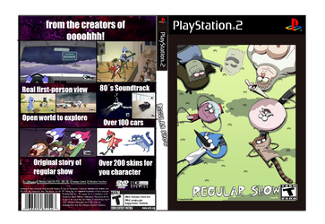 Regular Show The Game by Mordecai9999