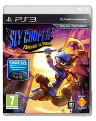 Sly Cooper Thieves In Time Ps3 cover by Mordecai9999