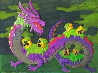 Toxic Dragon OC Dokuryu by RoamingDragon