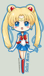 Chibi Sailor Moon by SiliceB