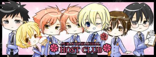 Chibi Ouran Host Club by SiliceB