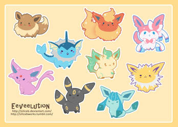Eeveelution by SiliceB
