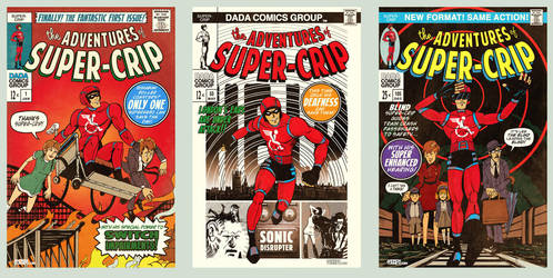 Super-Crip - For DaDaFest by AndrewTunney