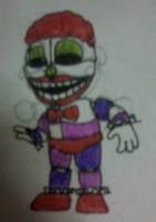 Clown Child #2 by FreddleFrooby