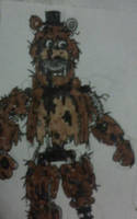 Withered Freddy (Twisted Ones) by FreddleFrooby