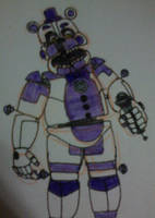 Funtime Freddy (Fourth Closet) v3 by FreddleFrooby