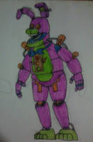 Blacklight Bonnie by FreddleFrooby