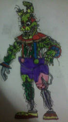 Springtrap (Baby's Toy Box) by FreddleFrooby