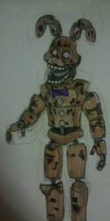 Proto Spring-Bonnie by FreddleFrooby