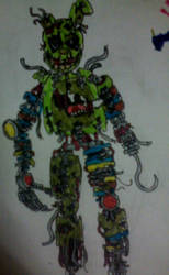 Scrap Springtrap by FreddleFrooby