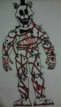 Abydos Identikit - Tangled Freddy (1st Form) by FreddleFrooby