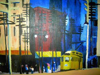 Edward Hopper-Yonkers by RaSta-PopSiCLEs