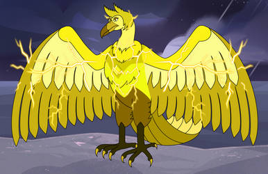 Yellow Diamond Thunderbird by EddyBite87