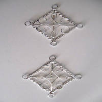 Cloak Clasps - Sterling Silver by camias