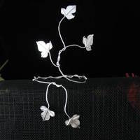 Ivy Leaf Wrap Cuff by camias