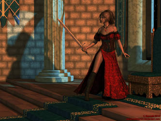 The Lady-Knight by kaliannameyron