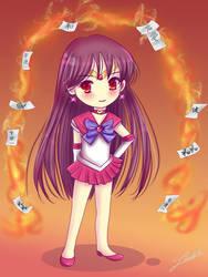 Chibi Sailor Mars by Nawal