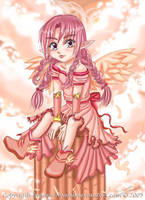 Chibi Angel by Nawal