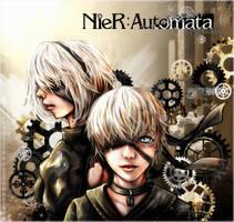 NieR: Automata by BlueStarFFF