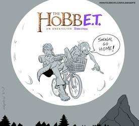 MOVIEMIX: THE HOBBIT MEETS E.T. by Kaj-Man
