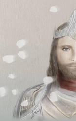 Aragorn-King Elessar by HinoSherloki