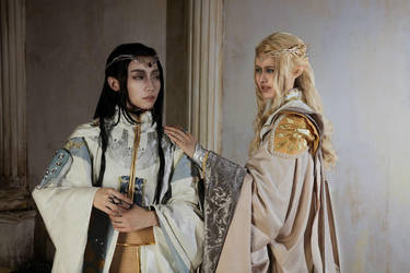 Finrod and Turgon by HinoSherloki