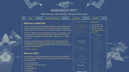 ModCraft.Net Redesign by laxon